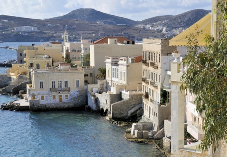 Syros in Greece