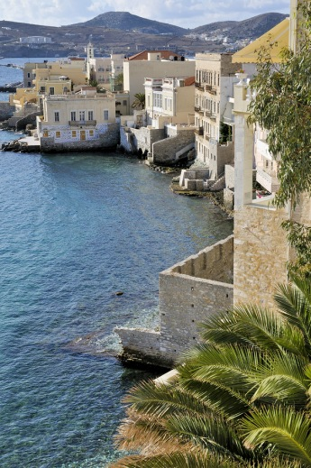Ermoupoli on Syros, repinned from https://www.greece-travel-secrets.com/Syros.html