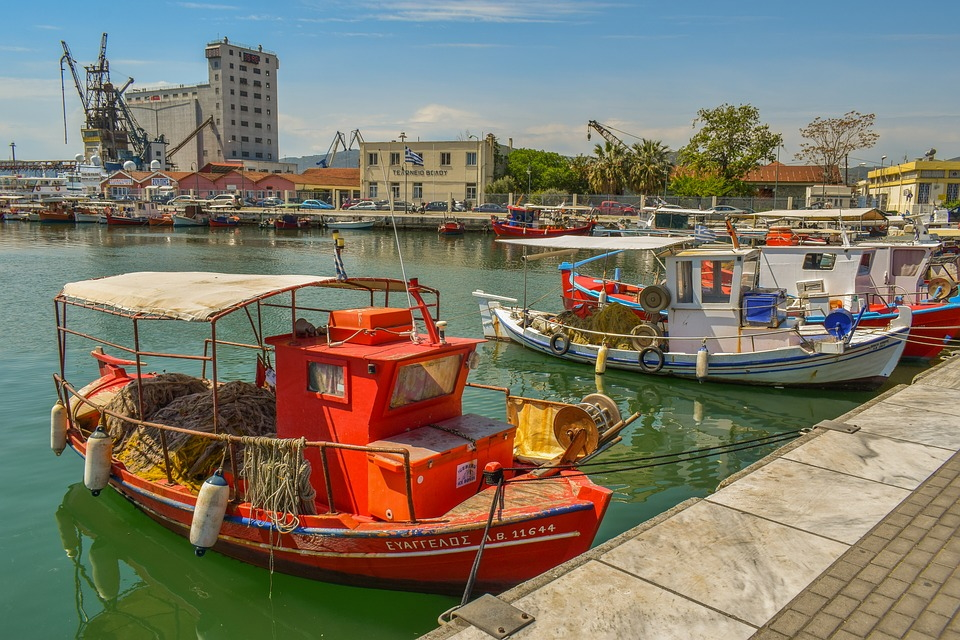 The Harbour in Volos