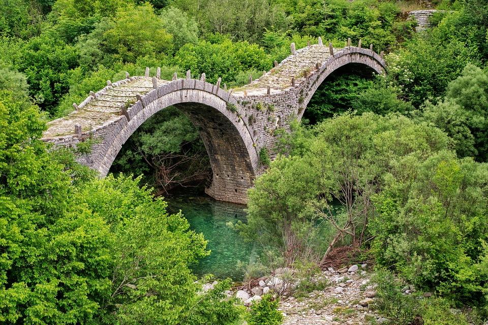 stone bridge in Zagoria