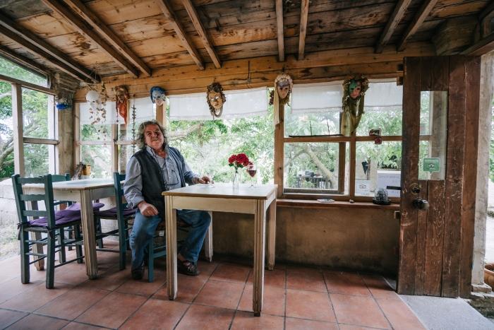 Antonis Maroudas, Zakynthos winemaker