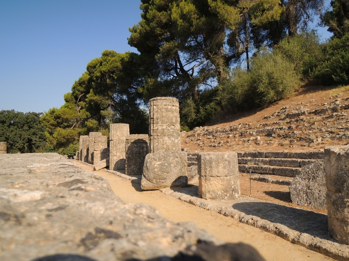 Seeing the ruins of Ancient Olympia in the Peloponnese is one of the top ten things to do in Greece according to Greece Travel Secrets