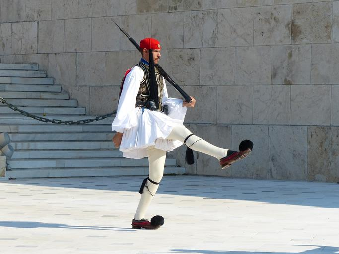 Evzone Soldier in Athens