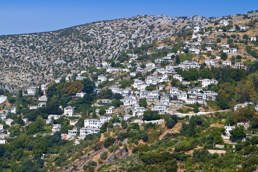 Makrinitsa on the Pelion Peninsula