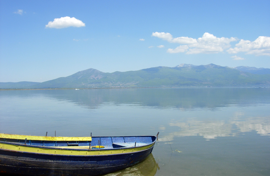 The Prespa Lakes in Greece