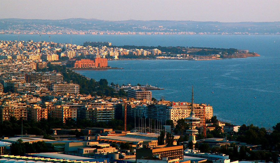 Thessaloniki is the second biggest city in Greece