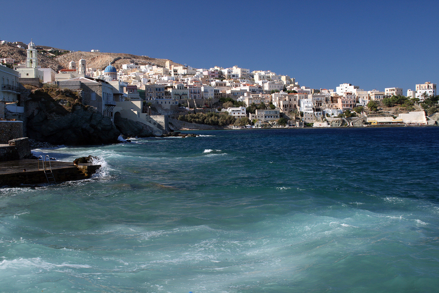 Ermoupoli, Capital of Syros and of the Cyclades