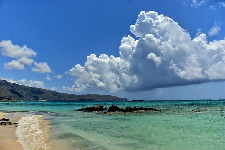 Elafonissi Beach on Crete
