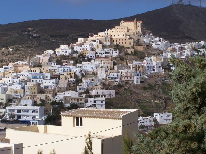 Syros in the Cyclades islands of Greece
