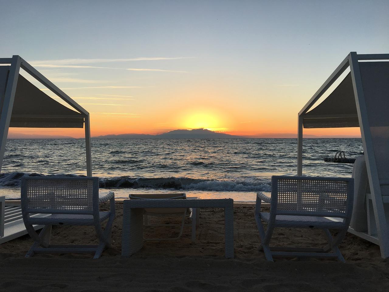 View of Mount Olympus from Halkidiki