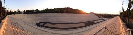 The Panathenaic Stadium in Athens