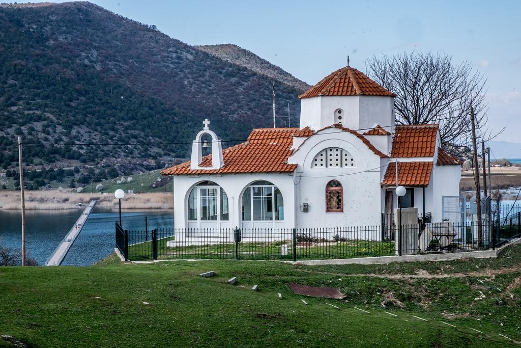 Church at the Prespa Lakes