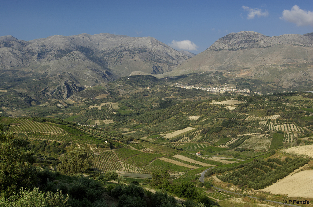 Mount Psiloritis on Crete