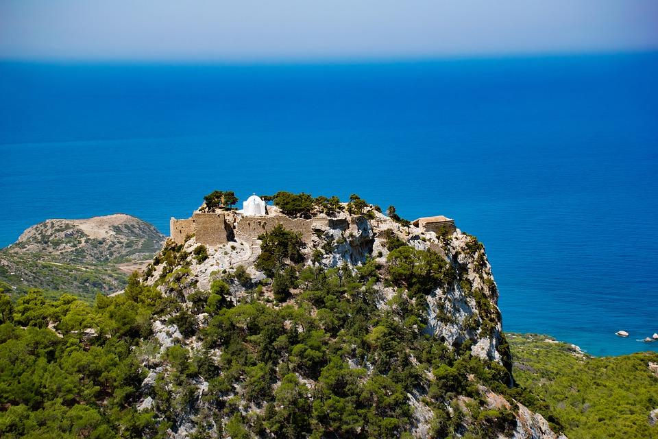 Monolithos on Rhodes