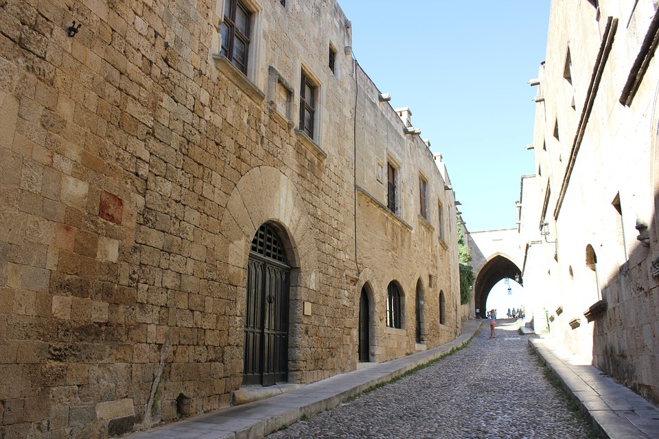 The Street of the Knights in Rhodes