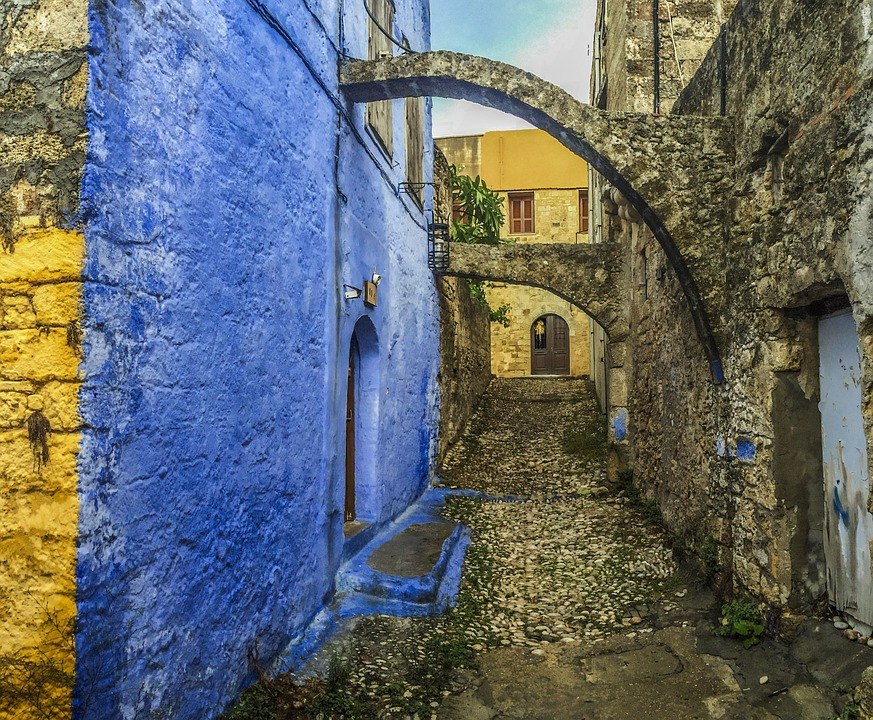 Seeing the Old Town of Rhodes is one of the top ten things to do in Greece according to Greece Travel Secrets