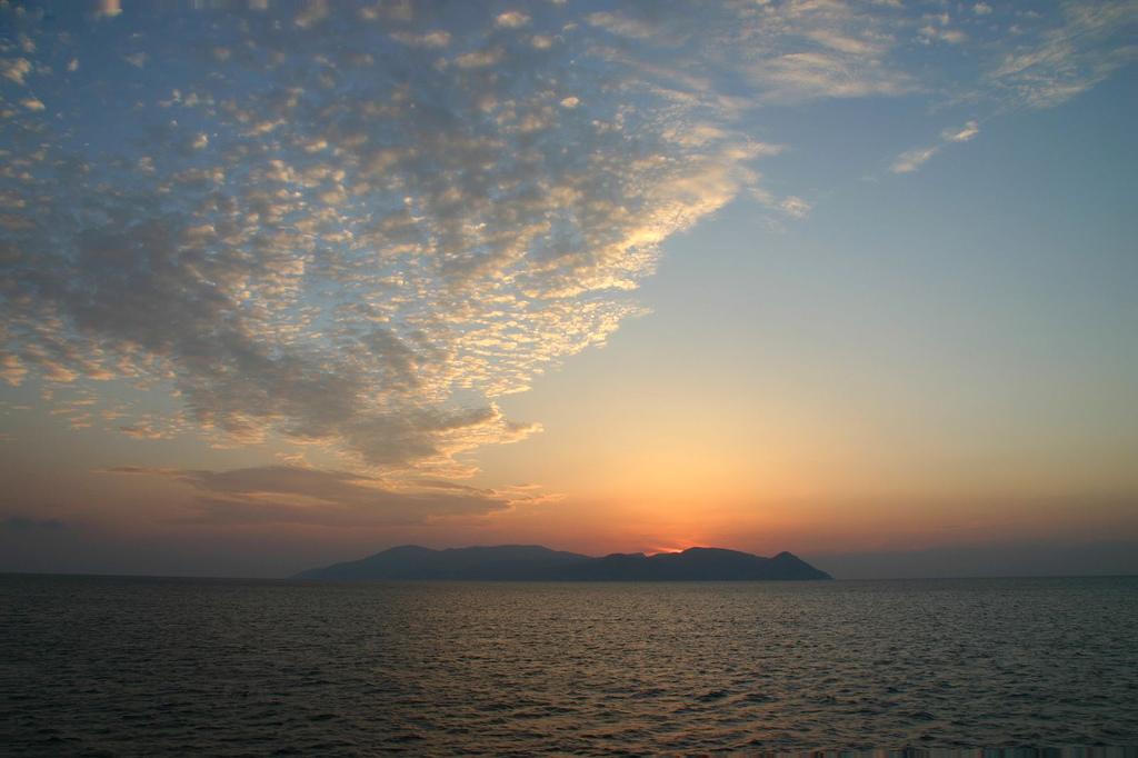 Sunset over Sikinos