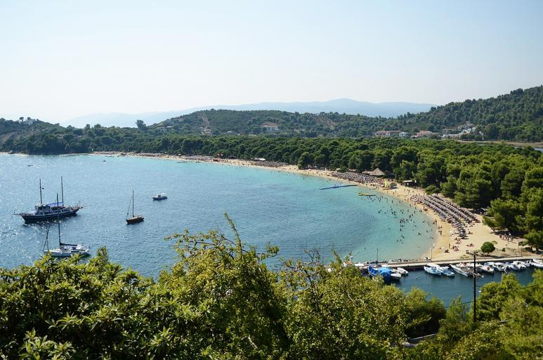 A beach on Skiathos