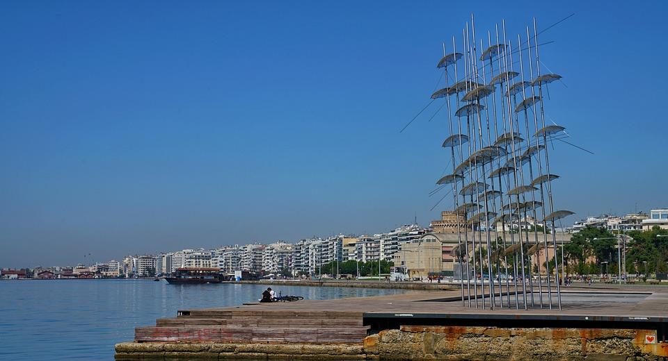 The Thessaloniki Waterfront