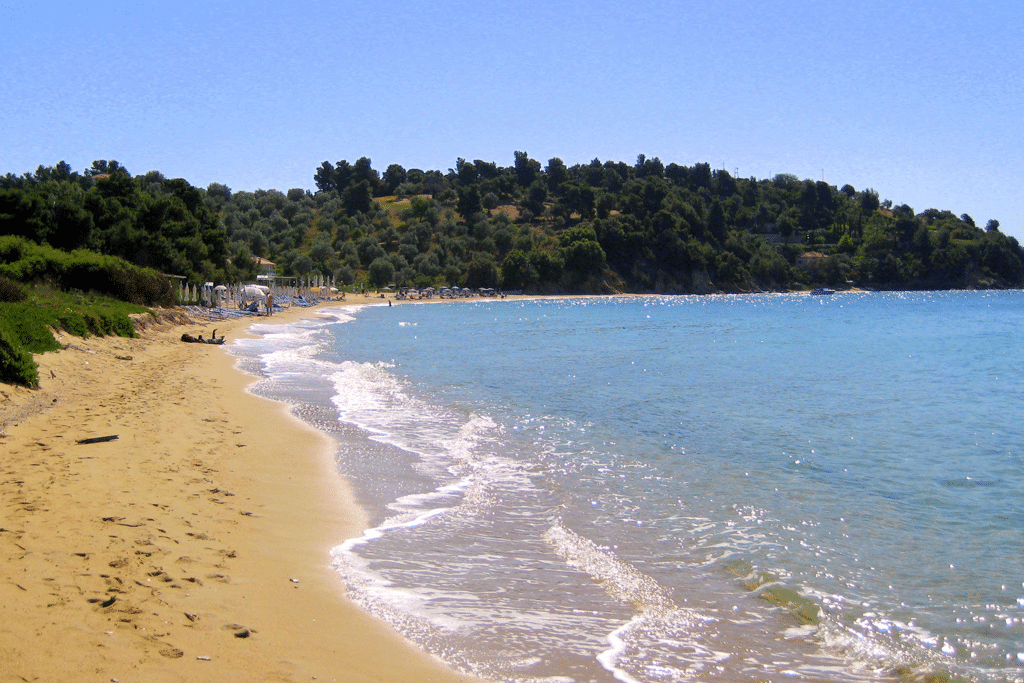 Troulos beach on Skiathos