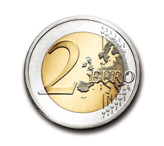 Two-euro coin in Greece