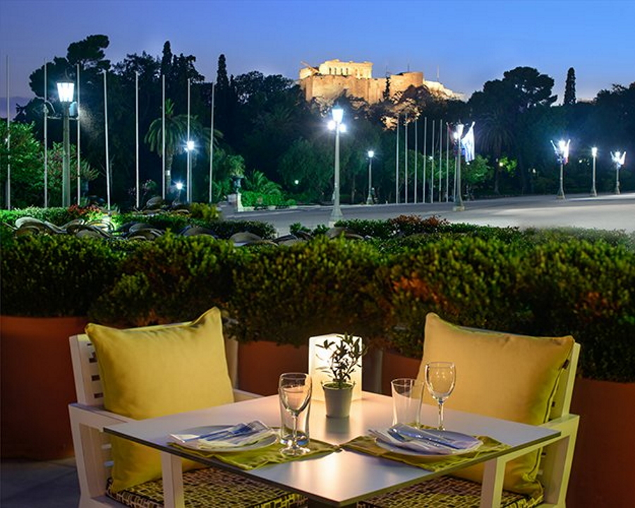 Aegli Cafe and Restaurant in Athens