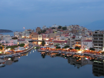 Agios Nikolaos on Crete, from Greece Travel Secrets: https://www.greece-travel-secrets.com/Agios-Nikolaos.html