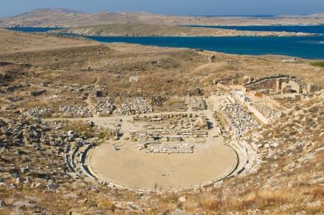 Delos in the Cyclades Islands of Greece: https://www.greece-travel-secrets.com/Delos.html
