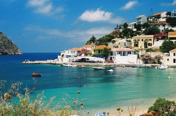 Assos on Kefalonia: http://www.greece-travel-secrets.com/Kefalonia.html