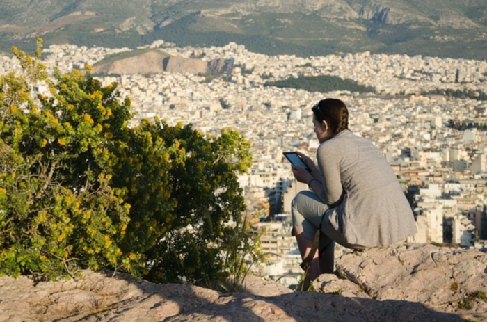 Panoramic view of Athens, one of the best places to visit in Greece