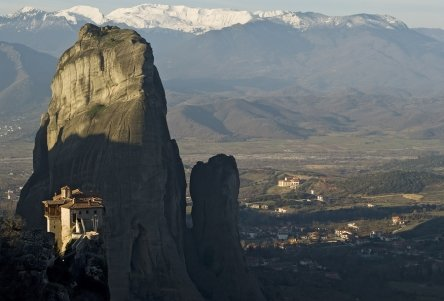 The monasteries of Meteora, pinned from http://www.greece-travel-secrets.com/Scenic-Drives-in-Northern-Greece.html
