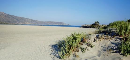 Elafonissi Beach in Southwest Crete