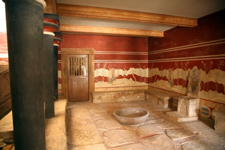 Visiting Knossos, one of the best things to do on Crete: http://www.Greece-Travel-Secrets.com/Knossos.html