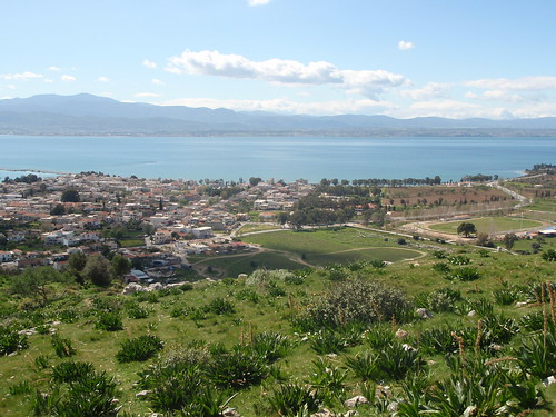 The View from the Acropolis at Eretria