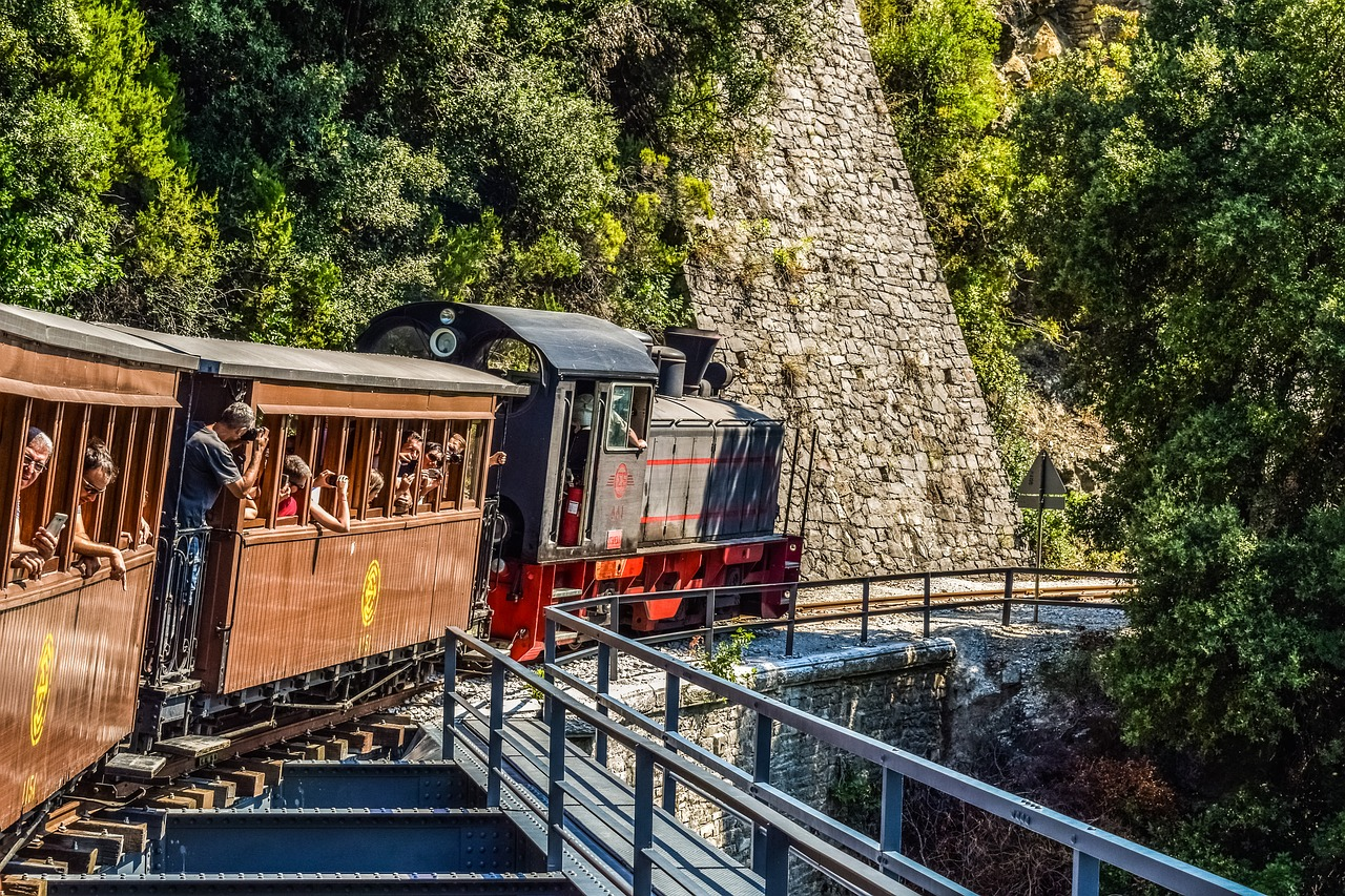 Train for Visitors in the Pelion
