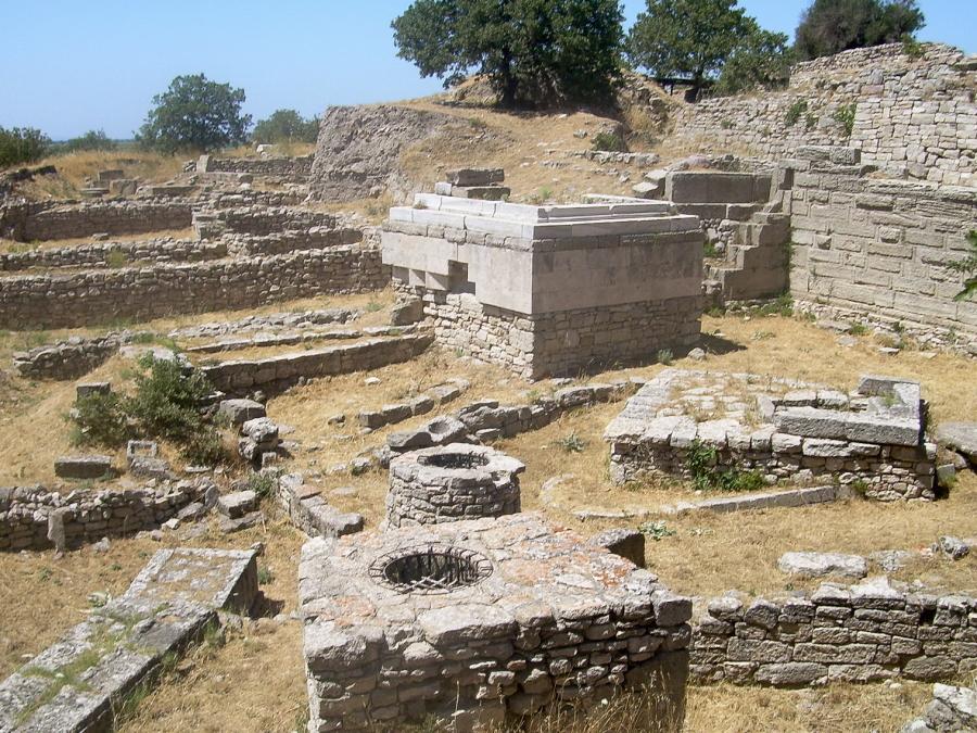 Hisarlik in Turkey