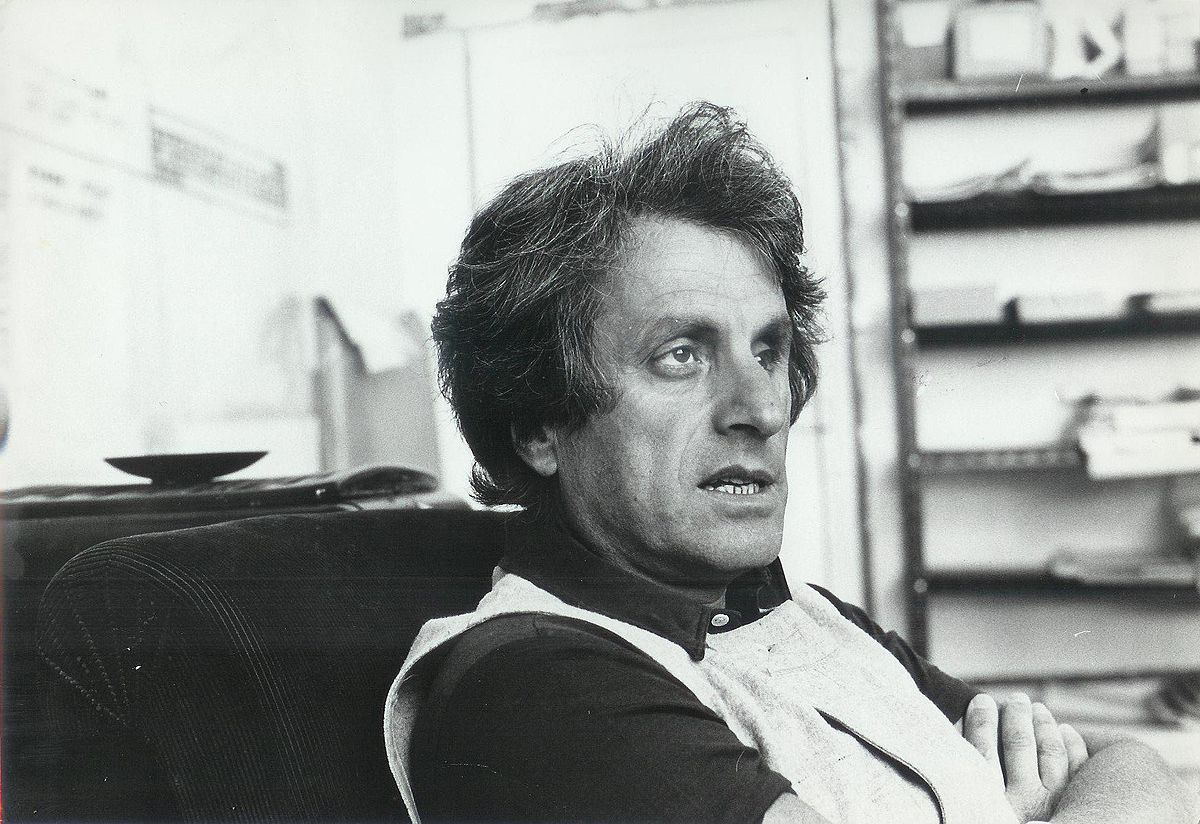 Greek composer Iannis Xenakis