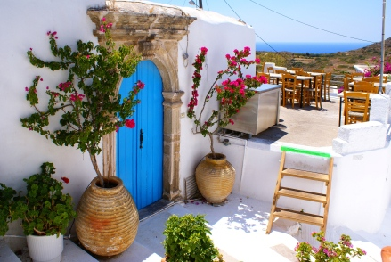 Kythira in the Ionian Islands of Greece: https://www.greece-travel-secrets.com/Kythira.html