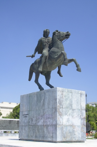 The story of Alexander the Great: https://www.greece-travel-secrets.com/Alexander-the-Great.html