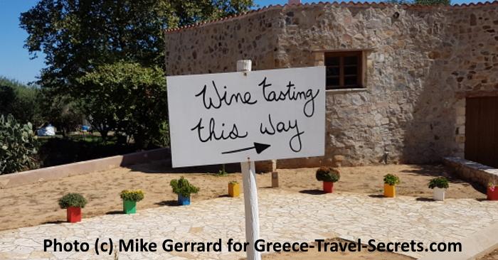 Wine Tasting on Crete