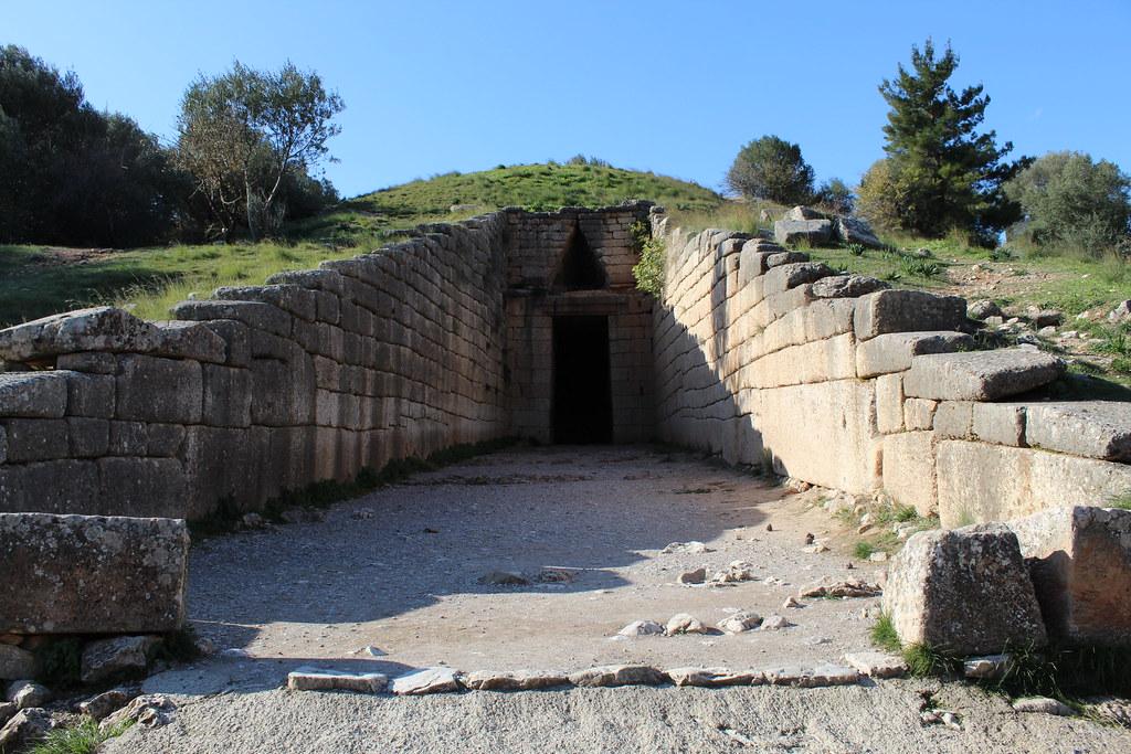 Treasury of Atreus at Mycenae