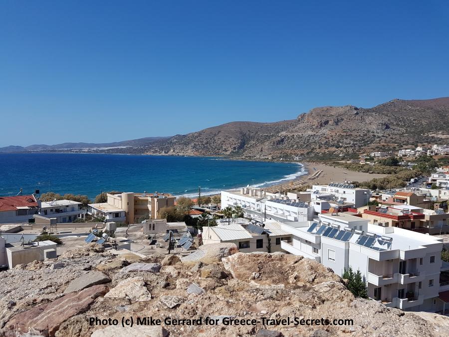 Paleohora on Crete