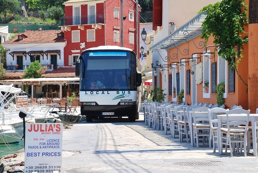 Paxos in the Ionian Islands.