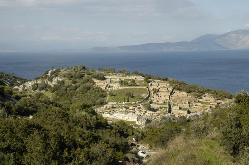 Ancient Rhamnous, Attica, Greece