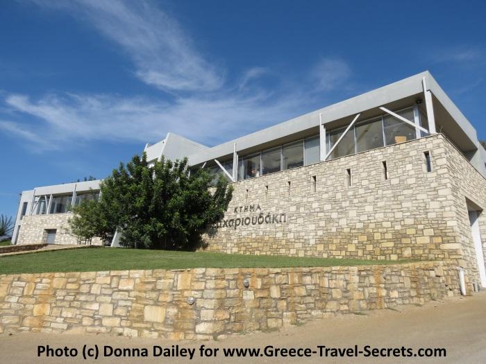 Zacharioudakis Winery on Crete