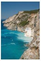 Coastline of Zakynthos in the Ionian Islands of Greece: http://www.greece-travel-secrets.com/Zakynthos.html