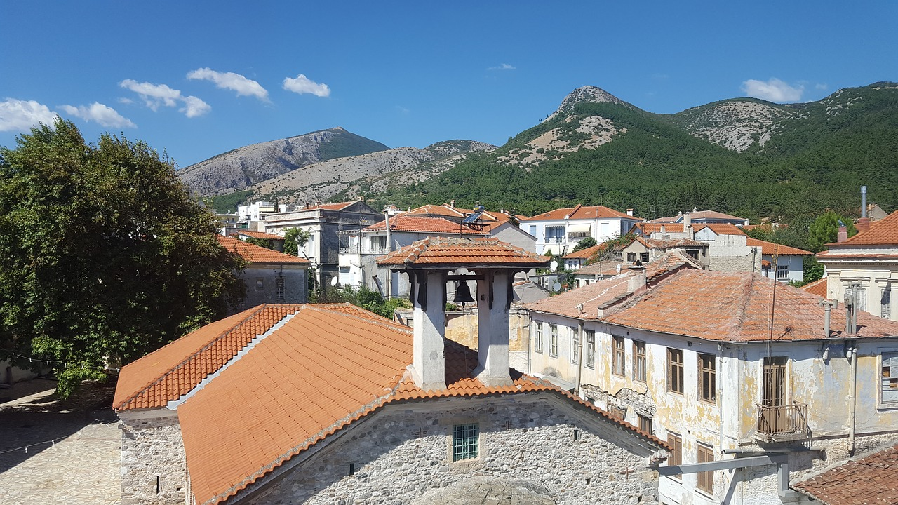 Xanthi in Thrace in Eastern Greece