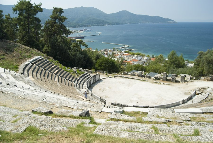 Ancient Theatre Above Thassos Town
