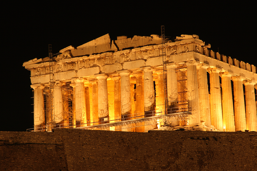 The Acropolis is one of the top ten things to do in Greece according to Greece Travel Secrets
