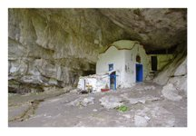Cave Church on Mount Olympus, the highest mountain in Greece: https://www.greece-travel-secrets.com/Mount-Olympus.html